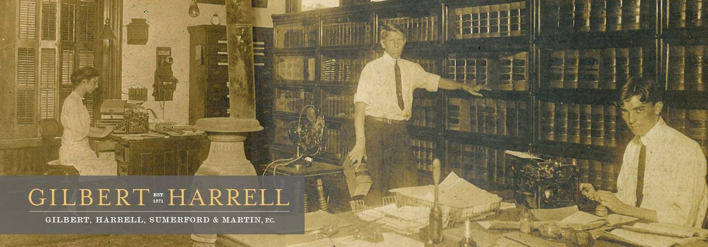 Gilbert Harrell Old Office