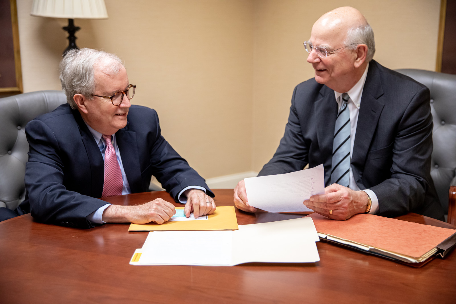 Mike and Rees - Corporate Lawyers at Gilbert Harrell Law Firm